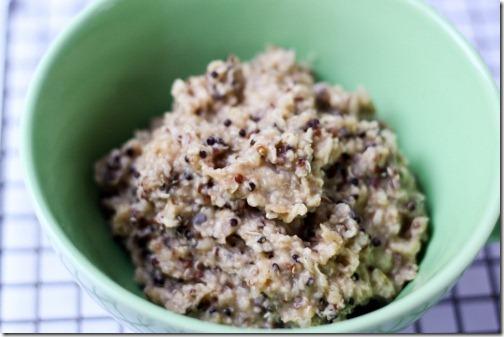oatmeal and quinoa