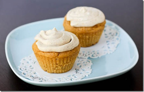 Autumn Spiced Cupcakes