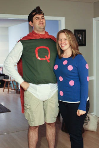 Easy Adult Halloween Costumes Quailman And Patty Mayonnaise