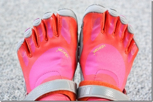 vibrams fivefingers barefoot running shoes