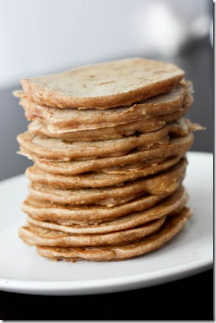 vegan pancake recipe