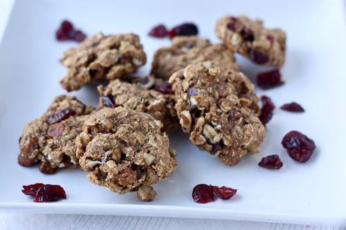 vegan oatmeal cookies trail mix