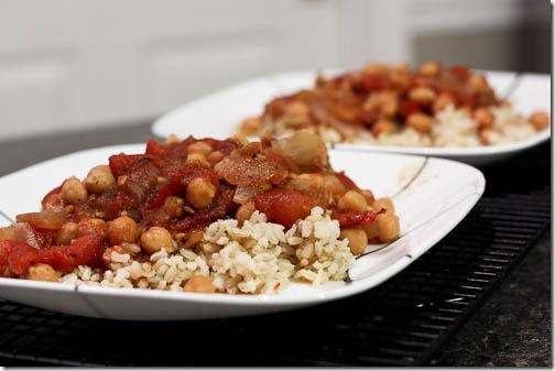 balsamic chickpeas recipe