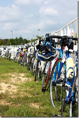 bikes waiting for ride