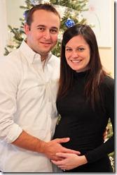 pregnant at christmas