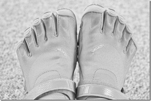 running rehab vibrams