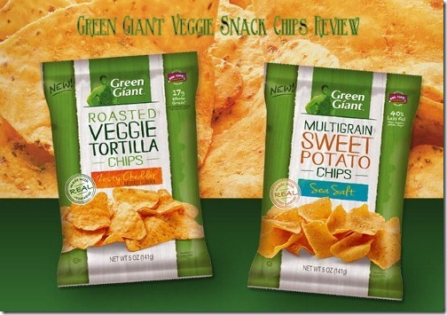 green giant veggie chips snack review