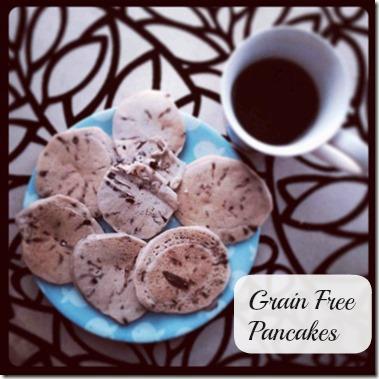 grain free pancakes recipe