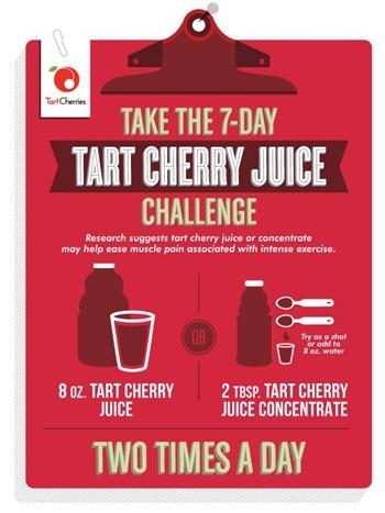 tart cherry challenge