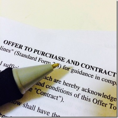 house sale contract
