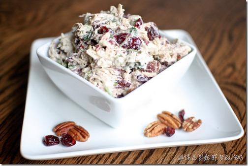 Healthy chicken salad recipe - gluten free dairy free