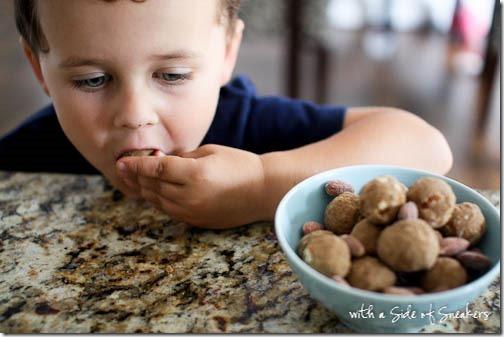 kid friendly snack balls