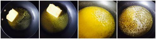 making clarified butter to remove dairy proteins