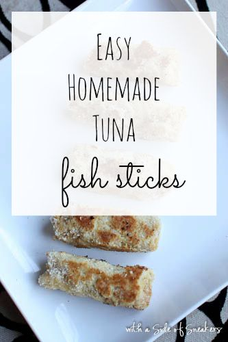 Easy gluten free fish sticks recipe