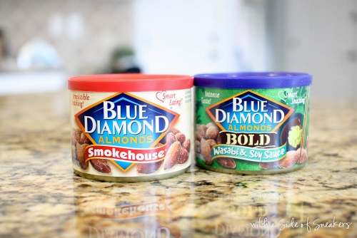 blue diamond flavored nuts