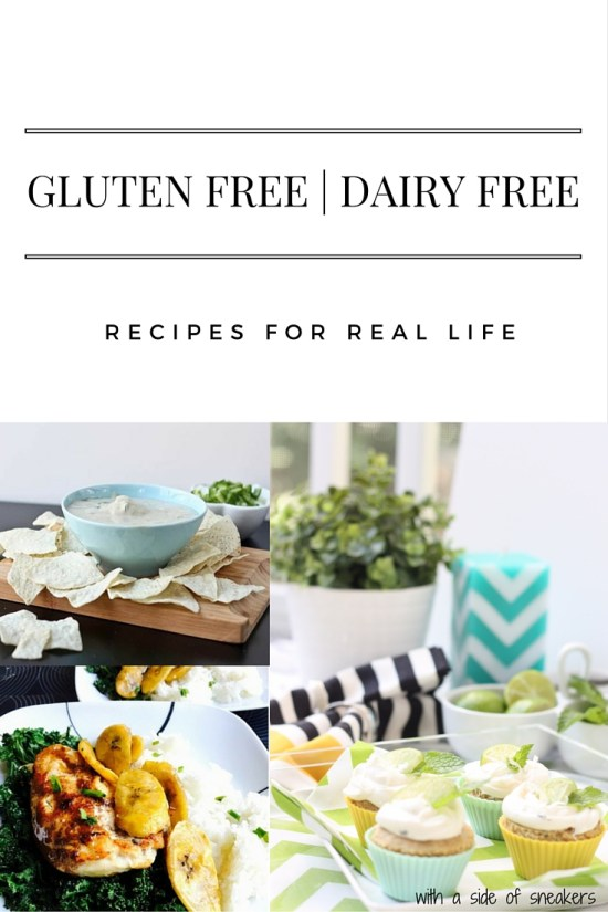 Everyday gluten free dairy free recipes that won't keep you trapped in the kitchen or hunting down bizarre ingredients.