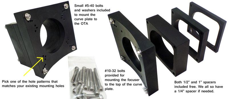 Universal Install Kit for CR Focusers