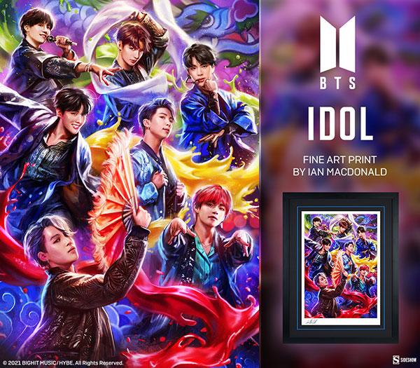 BTS Idol Fine Art Print
