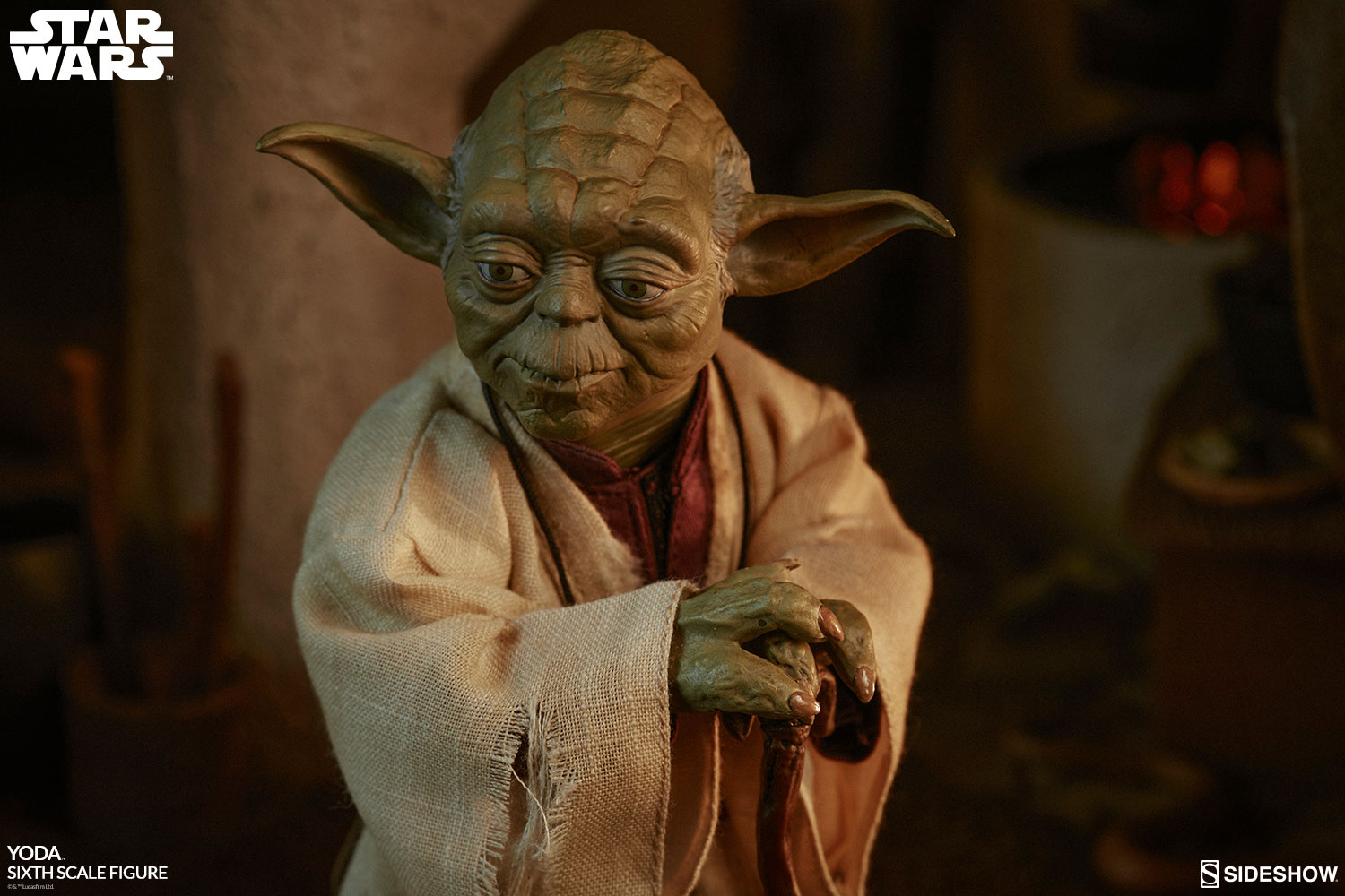 Star Wars Yoda Sixth Scale Figure By Sideshow Collectibles