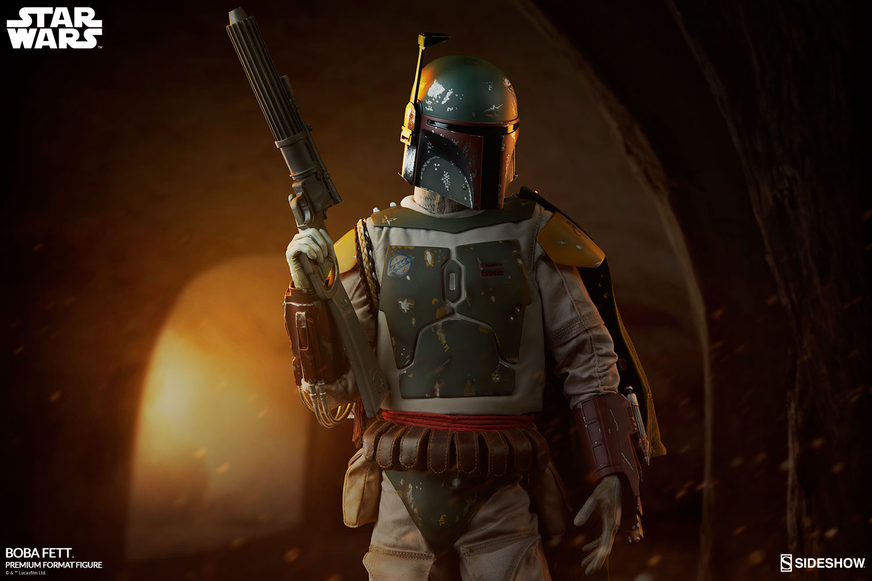 Star Wars Boba Fett Premium Format Tm Figure By Sideshow