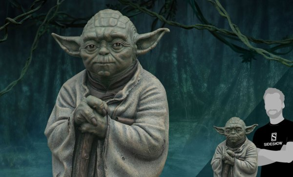 Yoda Bronze Life-Size Statue | Sideshow Collectibles