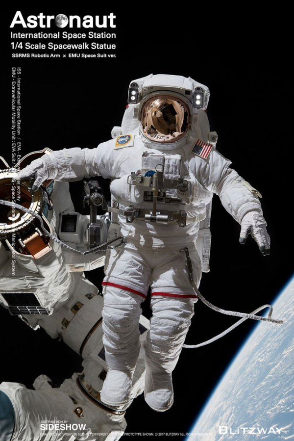 The Real Astronaut ISS EMU ver Quarter Scale Figure by ...