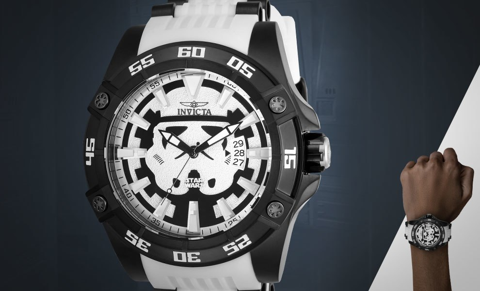 Star Wars Stormtrooper Mens Watch Model 26516 By Invicta Sideshow Collectibles