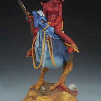 Wiliam Stout's Red Rider Statue