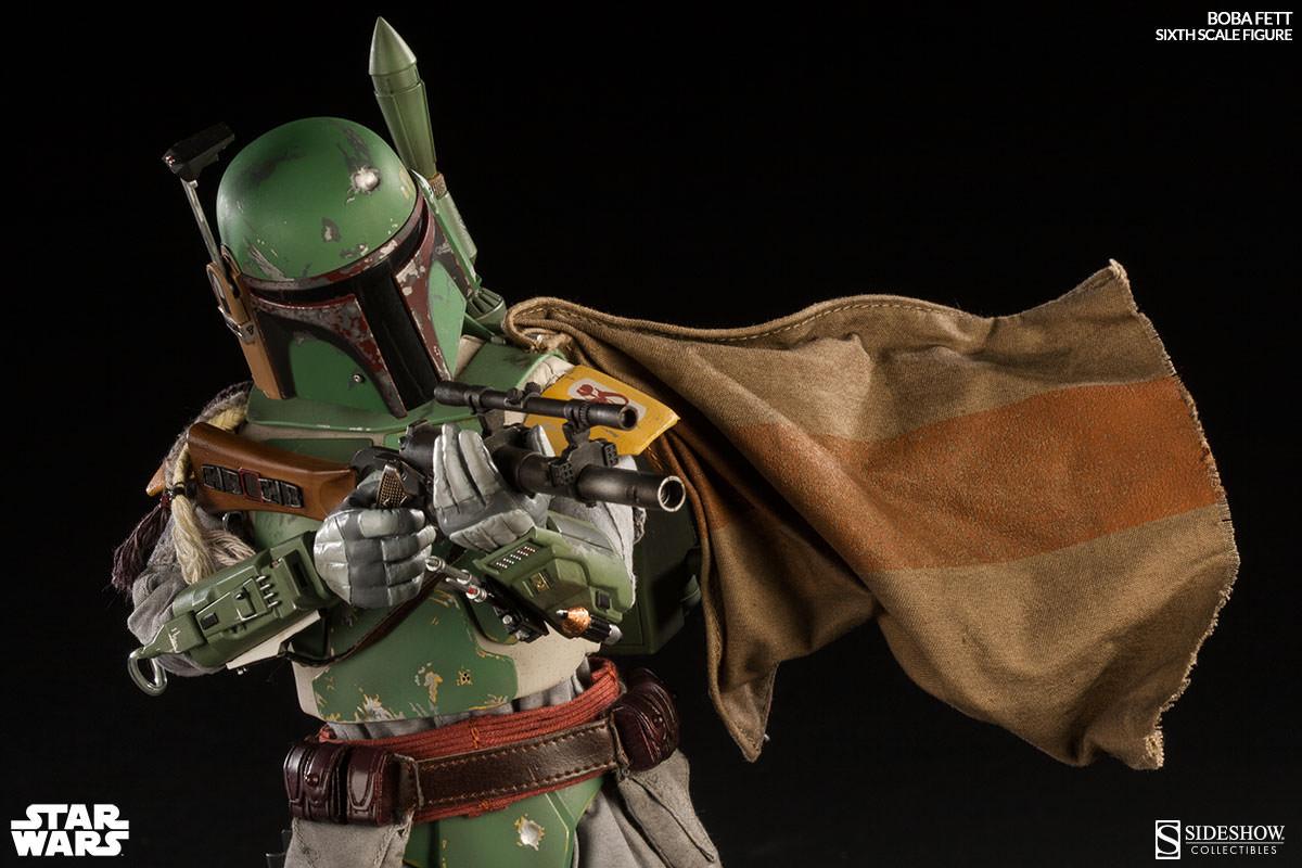 Star Wars Boba Fett Sixth Scale Figure By Sideshow