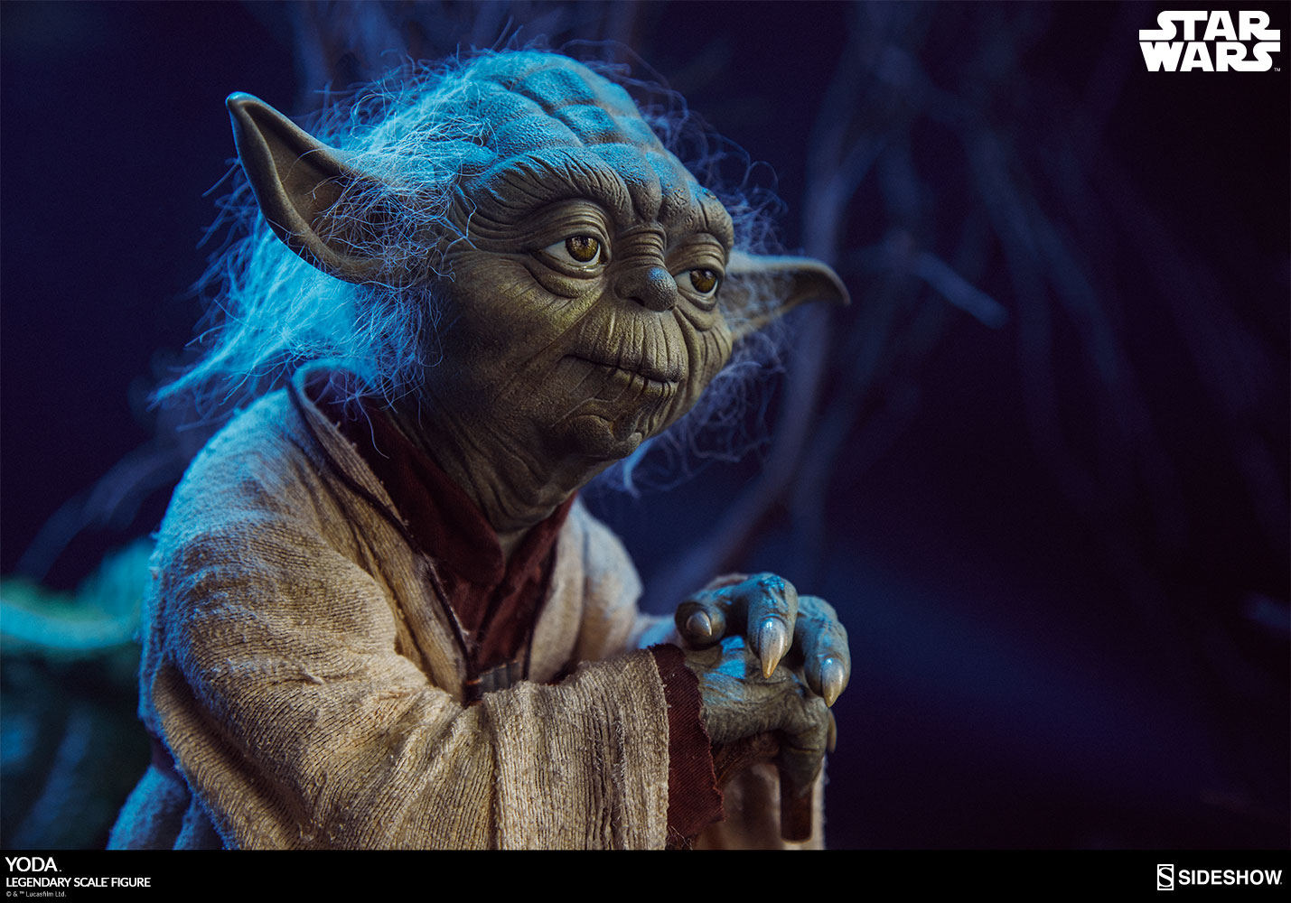 Star Wars Yoda Legendary Scale Tm Figure By Sideshow Collec