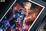 Captain Marvel Premium Art Print