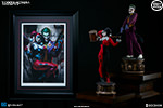 The Joker Harley Quinn Premium Art Print