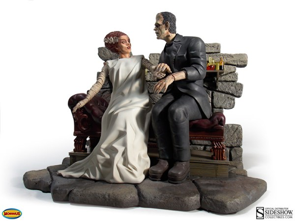 Universal Monsters Bride of Frankenstein Statue by Moebius