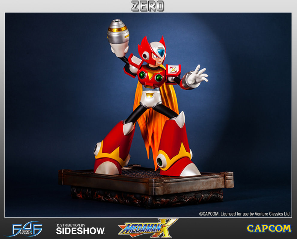Megaman Megaman X Zero Statue By First 4 Figures Sideshow Collectibles