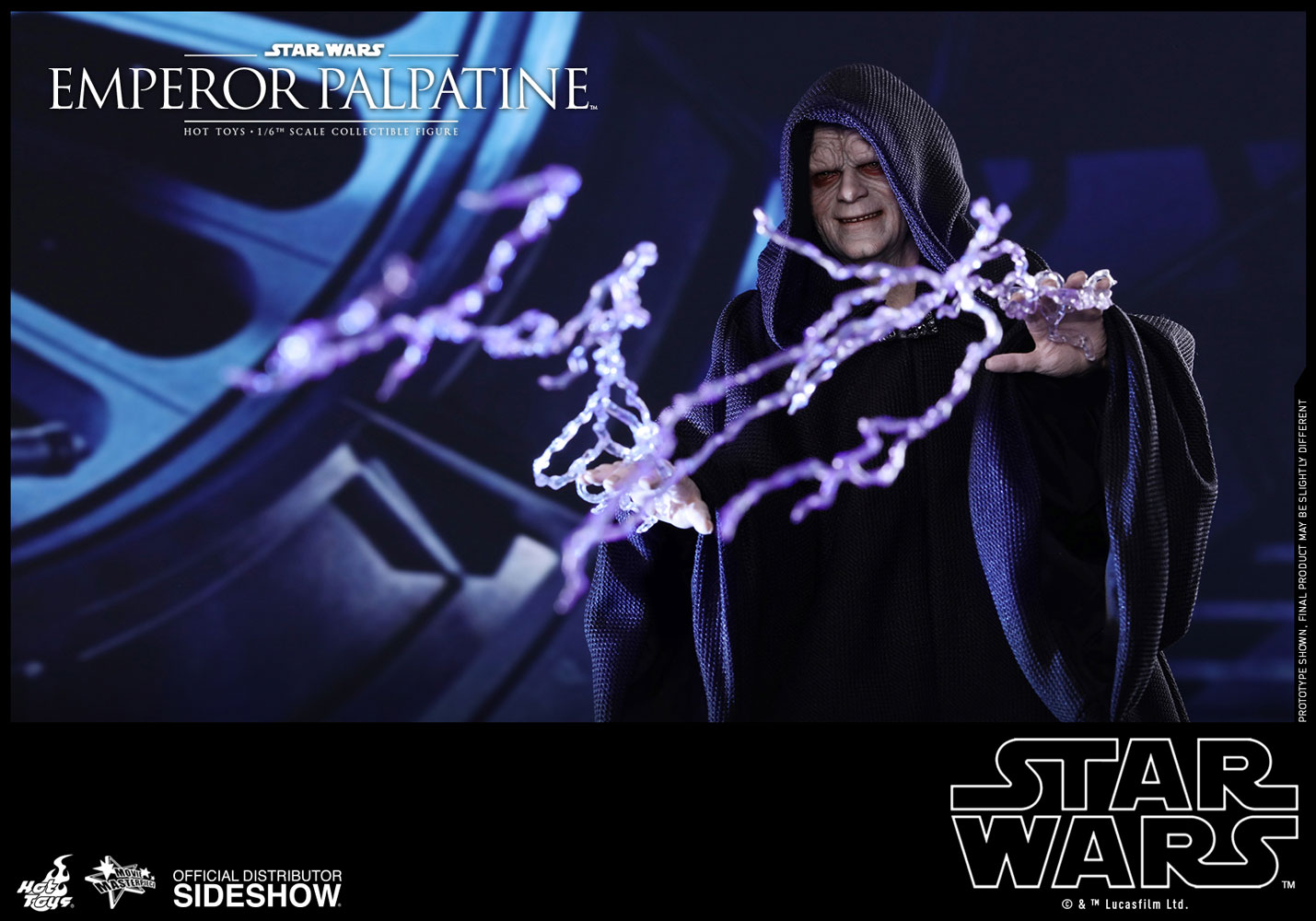 Star Wars Emperor Palpatine Sixth Scale Figure By Hot Toys Sideshow Collectibles