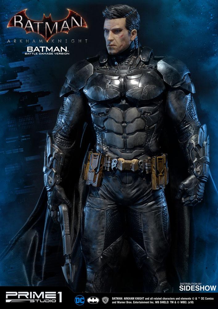 Dc Comics Batman Battle Damage Version Statue By Prime 1