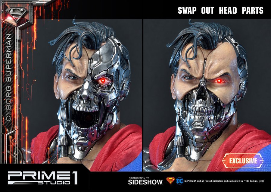 Prime 1 studio superman cyborg