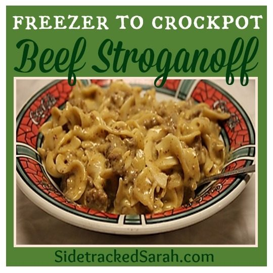 Slow Cooker Ground Beef Stroganoff Recipe: The BEST Slow Cooker Ground Beef Stroganoff Recipe
