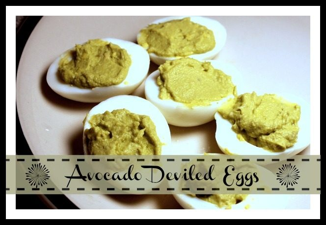 Healthy Avocado Deviled Eggs Without the Mayonnaise
