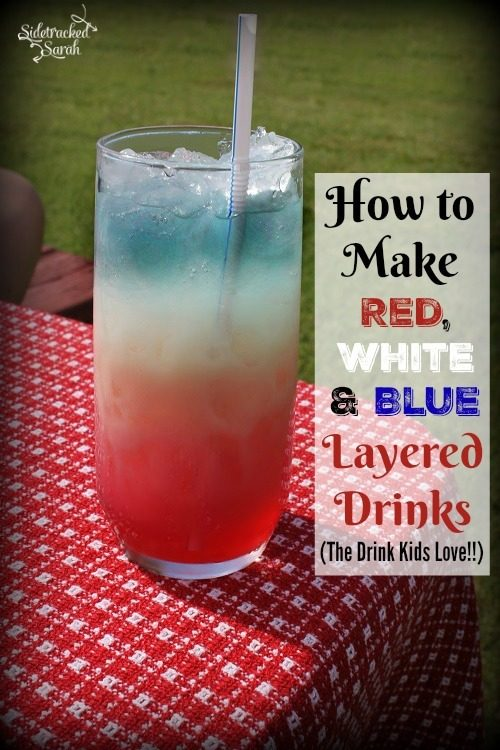 4th of July Drinks for Kids & Adults Alike