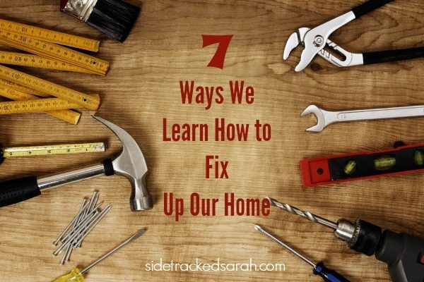 Save Money:  Learn How to Fix Things in Your Home