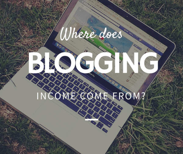 Where does Blogging Income Come From?