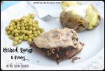 Slow Cooker Herbed Roast & Gravy