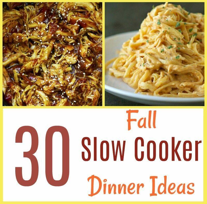 30 Slow Cooker Dinner Ideas for Fall