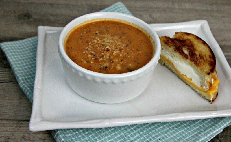 Homemade Tomato Basil Soup Recipe
