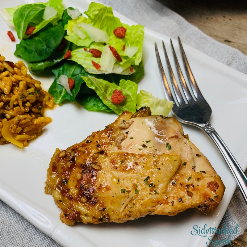 The Best Slow Cooker Chicken Thighs Recipe