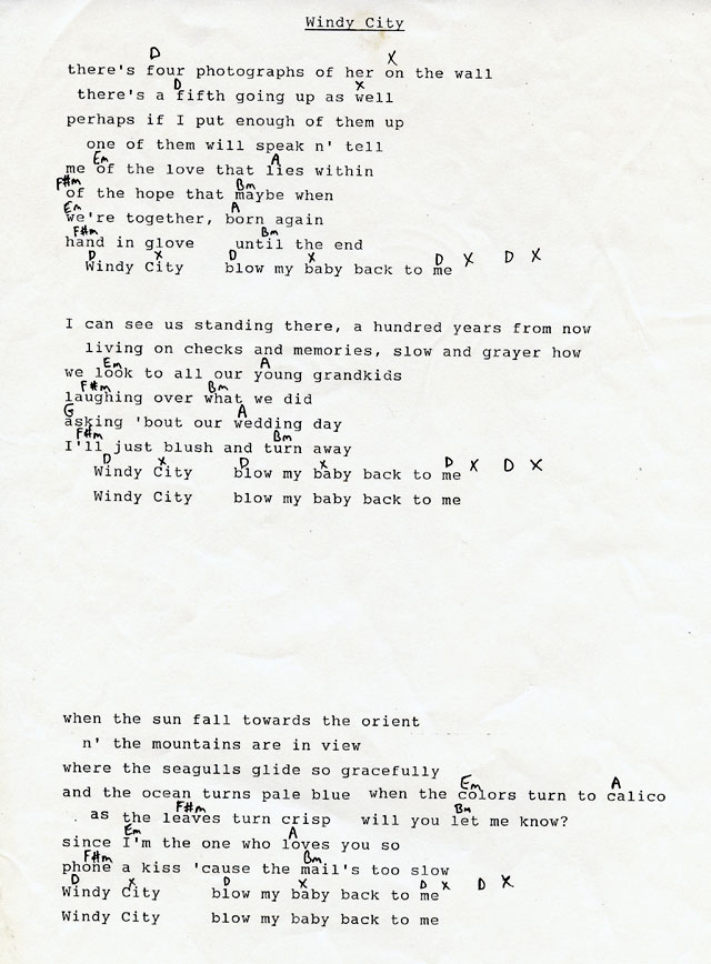 The Coal Porters Lyrics And Chords The Official Website