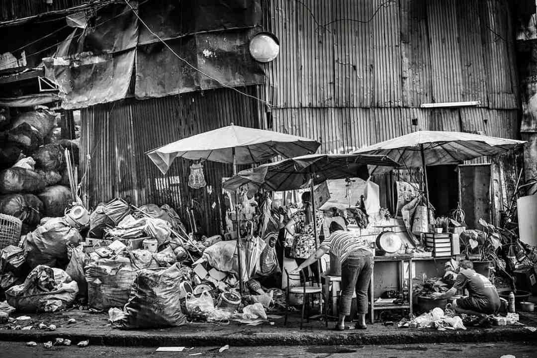 Verdienen met de vuilnis in Bangkok
