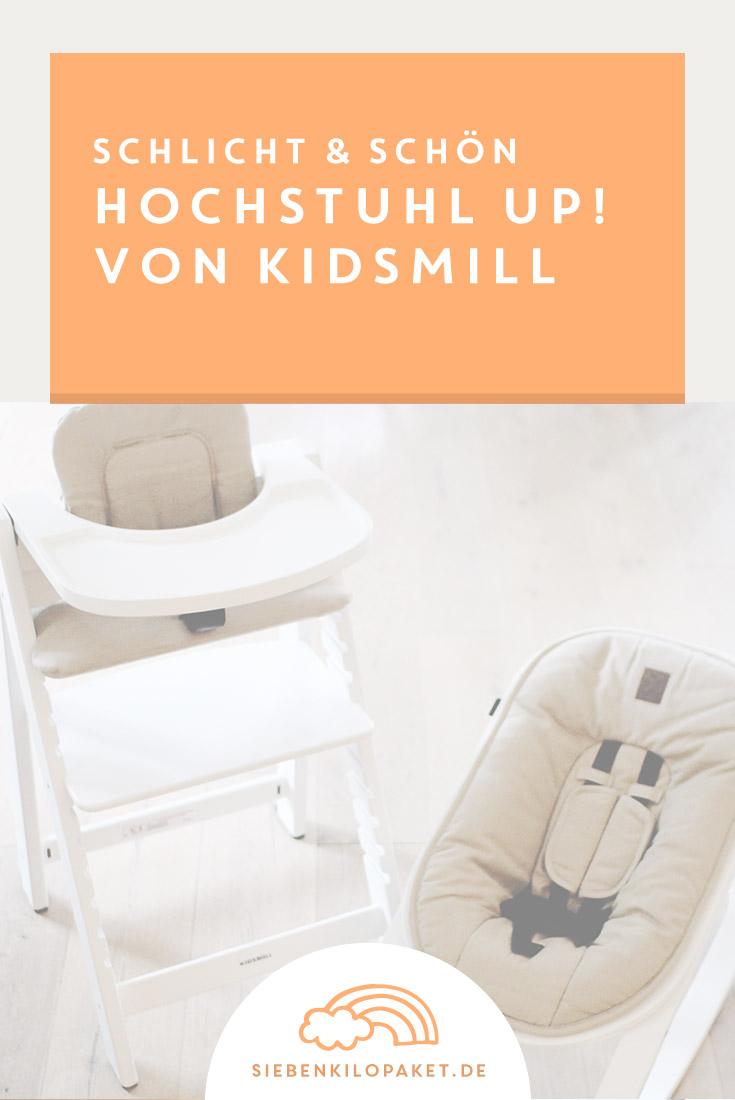 Babyausstattung - Hochstuhl Up! von Kidsmill vorgestellt ...