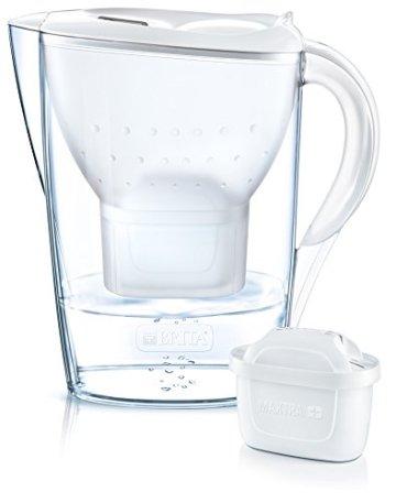 BRITA Wasserfilter Marella weiß inkl. 12 MAXTRA+ Filterkartuschen – BRITA Filter Jahrespaket zur Reduzierung von Kalk, Chlor & geschmacksstörenden Stoffen im Wasser - 6